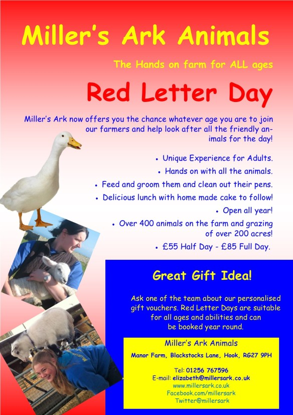 Red Letter Day jan 18